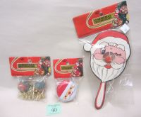 THREE VINTAGE NEW IN PACKAGE OLD STOCK KID'S CHRISTMASTOYS